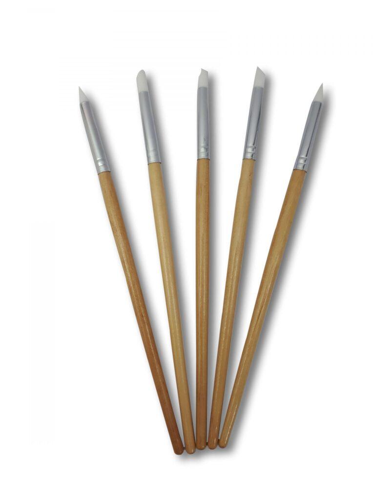 قلم سیلیکون کوچک5 عددی